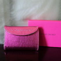 Victoria's Secret Limited Edition Metallic Mini Wallet Hot Pink New Photo