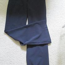 Victoria's Secret  Navy Blue Dress Pants Size 4 Short