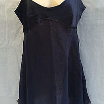 Victorias Secret Nightie Teddie Navy Blue Size M Photo