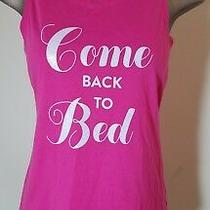 Victoria's Secret Pink Come Back to Bed Tank Sleep Shirt Xs  Photo