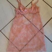 Victoria's Secret Pink Lace Lingerie Teddy- Size 36b- Euc Must See Beautiful Photo