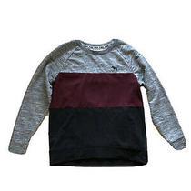 Victorias Secret Pink Ladies Sweatshirt Top Black Red Grey Size S Small 8 10 Photo