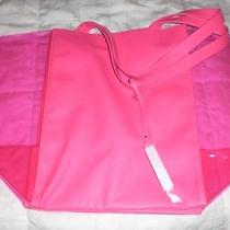 Victoria's Secret Pink See-Through Beach Tote Photo