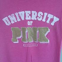Victoria's Secret Pink T-Shirt Size Medium Photo