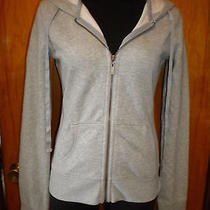 Victoria's Secret Plush & Lush Gray Fleece Zip Hoodie Sweatshirt Jacket S New Photo