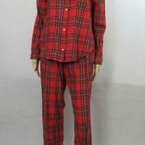 Victoria's Secret Red Plaid Pajama Set Top & Pants Christmas Holiday Pjs Size Xs Photo