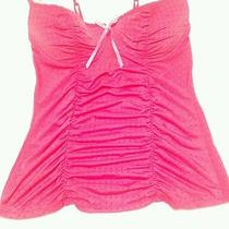 Victoria's Secret Sexy Little Things Nighty Cami Lingerie Pink Underwire M Poly Photo