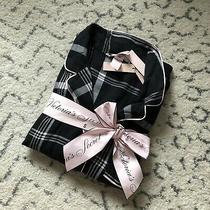 Victorias Secret Silk Ls Pajama Set Size Small Photo