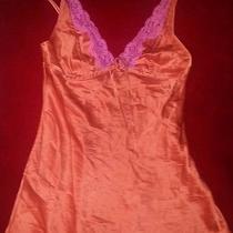 Victoria's Secret Silk Satin Babydoll Nightie Multi-Color     Photo