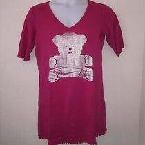 Victoria's Secret Sleep Shirt Short Sleeve Large Pink Color. Photo