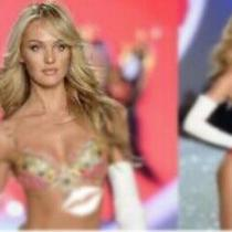 Victoria's Secret Supermodelcandice Swanepoelsexy Fantasy Angel Bikini Top 34c Photo