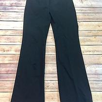 Victoria's Secret Sz 2 Christie Fit Stretch Dress Pants Black Low Rise Trousers Photo
