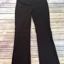 Victoria's Secret Sz 2 Christie Fit Stretch Dress Pants Brown Low Rise Trousers Photo
