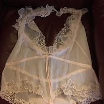 Victoria's Secret Teddy Light Blush Size Small See Thru and Lace Photo
