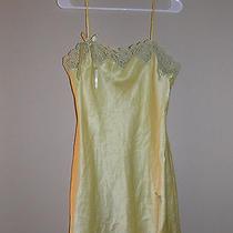 Victoria's Secret Yellow Lingerie Pajamas Medium M Nightgown Slip Nightie Photo