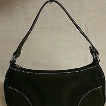 Victoria Secret Black Handbag/shoulder Bag Microfiber Photo