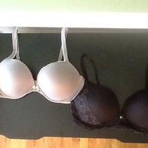 Victoria Secret Body by vs Size 38d Bras Lot Pushup Wireless Lace Multi Way Photo