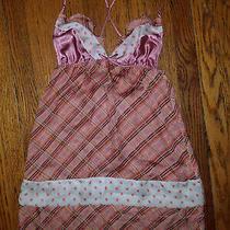 Victoria Secret Chemise Babydoll Nightgown Lingerie Nightie Blush Sz S Small Photo