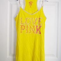 Victoria Secret Hot Pink  Yellow Nightie Nightgown  Size M Photo