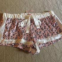 Victoria Secret Pajama Silk Shorts Size S 34.50 Nwt Photo