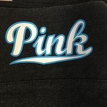 Victoria Secret Pink Yoga Charcoal Gray Workout Stretch Pants Womens M Photo