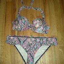 Victoria Secret Swimsuit Top Only Size 34 B Photo