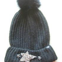 Victoria Secret Winter  Pom Pom Beanie Hat Photo