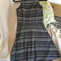 Victoria Sz S/m Stretch Pull on Racer Back Dress Fitted Bodice Flared Skirt Photo