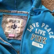 Victorias Secret Blue Love Hoodie S Photo