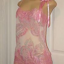 Victorias Secret Lingerie Slip Chemise Nightgown Sleepwear Small  Pink Photo