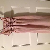 Victorias Secret Nightwear Lingerie Teddy Blush Pink 100%Silk Szs Nwt Retails48 Photo