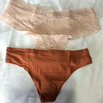 Victorias Secret Panties. Cheeky and Thong Size Medium  Photo