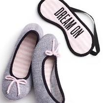 Victorias Secret Slippers and Sleep Mask Size Medium 7 8 M New in Package Photo