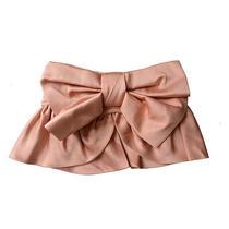 Viktor & Rolf 100% Silk Light Pink Waist Belt  Us S Eu 40 Photo