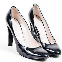 Viktor & Rolf Black Patent Leather Tower Heel Pumps Sz 36.5 Photo
