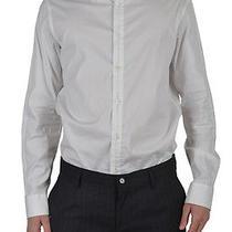 Viktor & Rolf Men's White Long Sleeve Casual Shirt Size Us M It 50 Photo