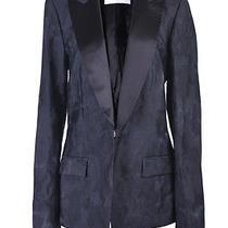 Viktor & Rolf Silk  Black One Button Blazer Us 8 It 44 Photo