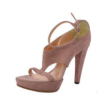 Viktor & Rolf Suede High Heelst-Strap Ankle Strap Sandals Us 7 Eu 37 Photo