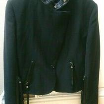 Viktor & Rolf Tuxedo Black Short Women Lady Jacket Blazer Photo
