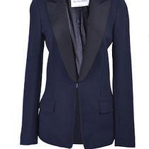 Viktor & Rolf Wool Silk One Button Blazer Us 4 It 40 Photo