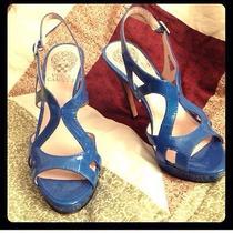 Vince Camuto Blue Heels Photo