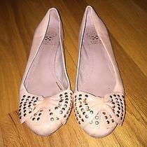 Vince Camuto Blush Pink Ballet Flats