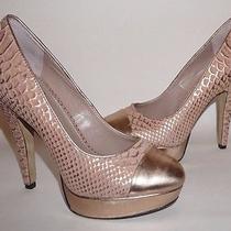 Vince Camuto Blush Snake Pattern Pumps Heels Size  8.5b Photo