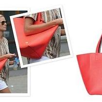 Vince Camuto Coco Tote in Fiery Coral Photo