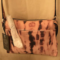 Vince Camuto Coey Leather Crossbody Handbag Blush Tie Dye New With Tag R 168 Photo