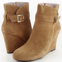 Vince Camuto Dena Tuscan Suede Womens Designer Shoes Ankle Boots 10 Photo