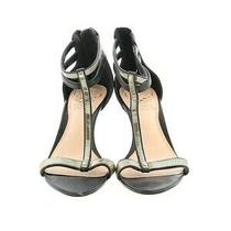 Vince Camuto Diva Heels - Women's Size 5.5 M Gold Metalllic Photo
