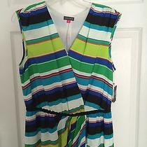 Vince Camuto Dress Striped Brand New Nwt Size 8 Photo
