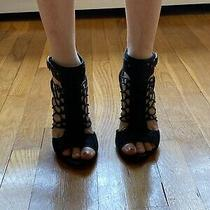 Vince Camuto Fossil Strappy High Heel Sandal Size 8 Photo