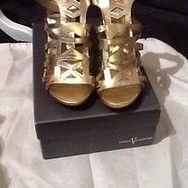 Vince Camuto Gold Sandal Photo